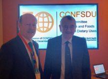 NHF President Scott Tips & Dr. Rolf Grossklaus, former CCNFSDU Chairman