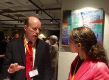 NHF President Scott Tips & Ecuadorian Delegate