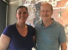 Anne Mortensen, Webmaster & NHF President Scott Tips
