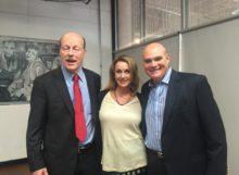 Scott Tips, Kat Carroll & NHF VP Gregory Kunin