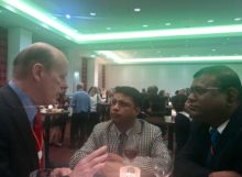 Scott Tips, Nepal Delegates Atul Upadhyay & Sanjeev Karn