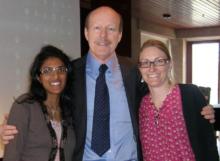 Sara Boo, Scott Tips & Marina Ahlm of NHF-Sweden