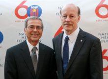 Ben Lizardi, Art Director & Scott Tips, NHF President
